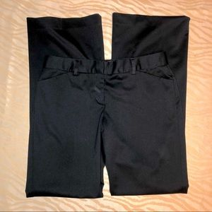 Express Design Studios. Editor black dress pants.